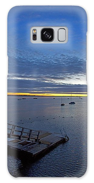 Sunrise At The Barnstable Yacht Club Galaxy Case
