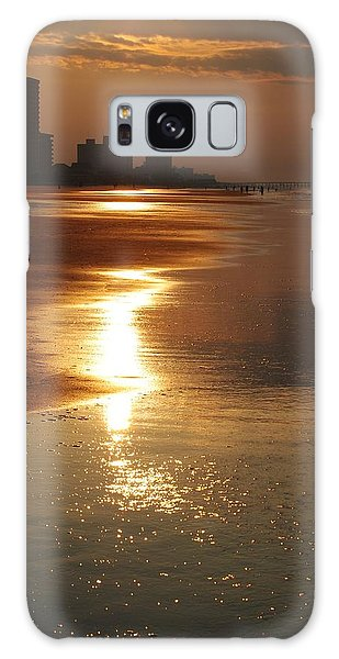 Sunrise At The Beach Galaxy Case