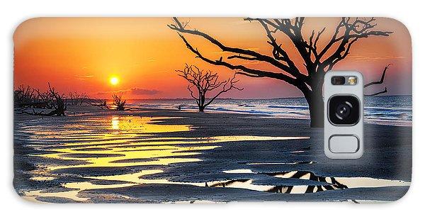 Sunrise At The Boneyard Galaxy Case