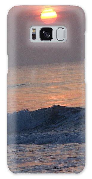 Sunrise At Wrightsville Beach Galaxy Case