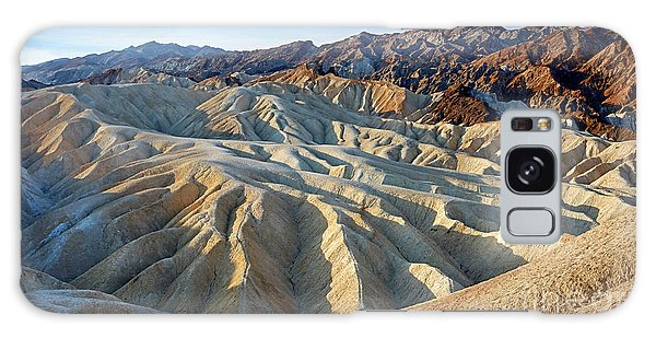 Sunrise At Zabriskie Point Galaxy Case