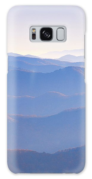 Sunrise Atop Clingman's Dome Ltriptych Galaxy Case