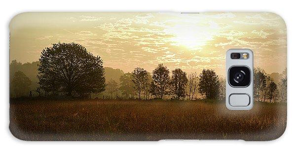 Sunrise Autumn Equinox 2017 Galaxy Case