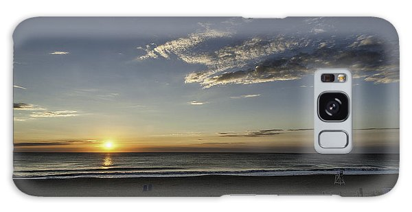 Sunrise Beach Oc Galaxy Case by Jim Moore