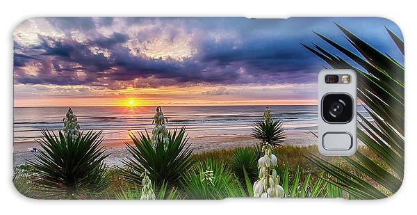 Sunrise Blooms Galaxy Case