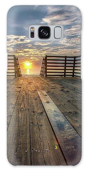 Sunrise Boardwalk Galaxy Case