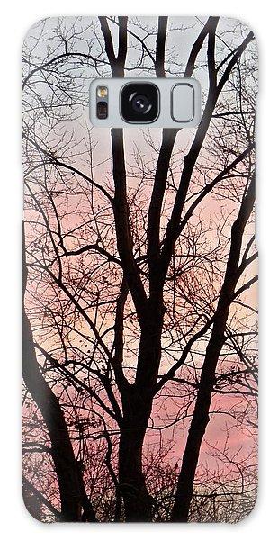 Sunrise Branches Galaxy Case