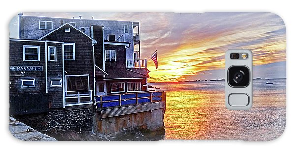Sunrise By The Barnacle Marblehead Ma Galaxy Case