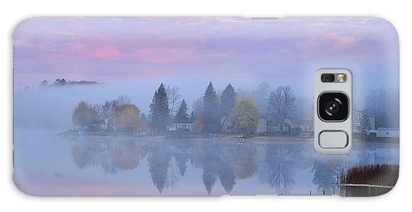Sunrise Comes To Stoneledge Lake Galaxy Case