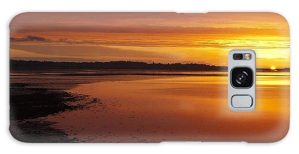 Sunrise Dornoch Firth Scotland Galaxy Case