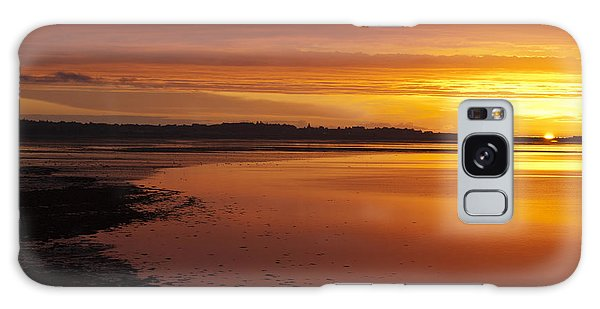 Sunrise Dornoch Firth Scotland Galaxy Case