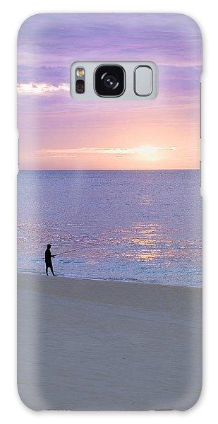 Sunrise Fisherman 2 Galaxy Case
