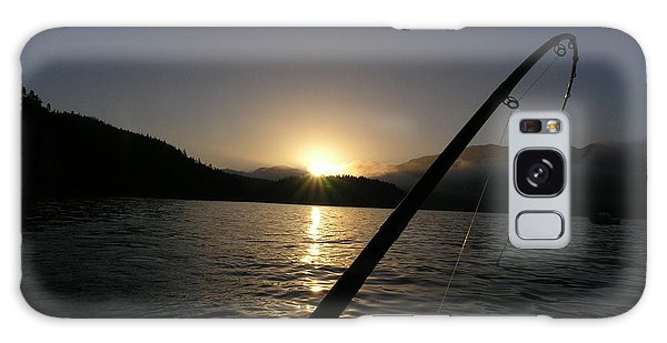 Sunrise Fishing Galaxy Case