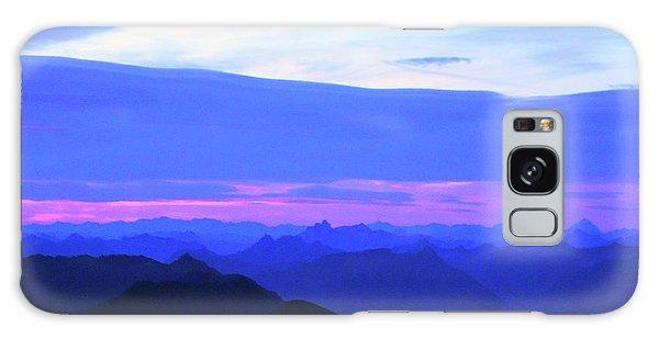Sunrise From Pilchuck Summit Galaxy Case