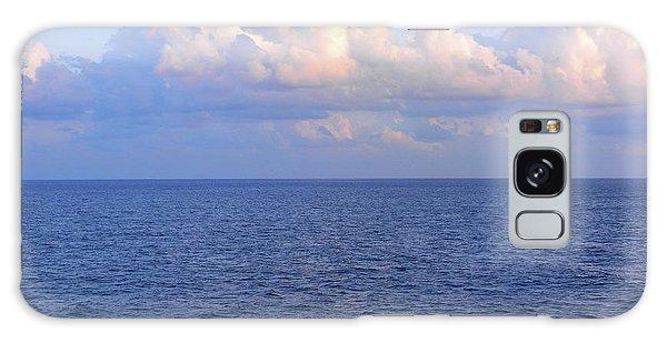 Sunrise From The Atlantic Ocean Galaxy Case