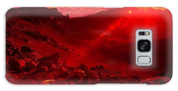 Sunrise Haleakala Galaxy Case