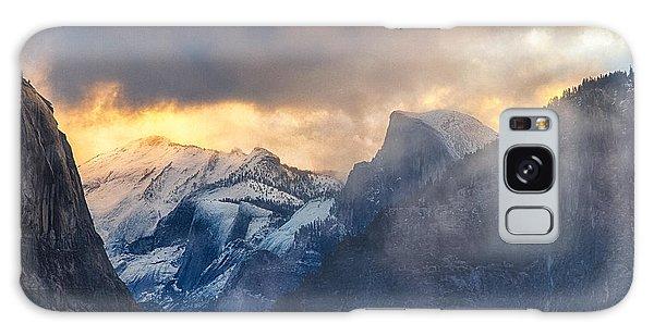 Sunrise Half Dome Galaxy Case