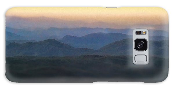 The Sky Galaxy Case - Sunrise Horizon Over The Great Smoky Mountains by Dan Sproul