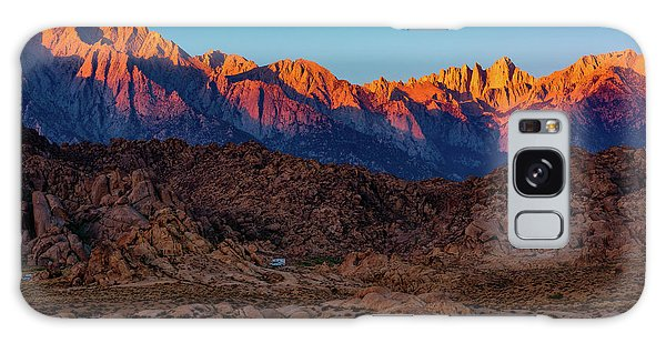 Sunrise Illuminating The Sierra Galaxy Case