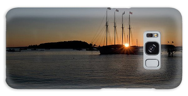 Sunrise In Bar Harbor Galaxy Case
