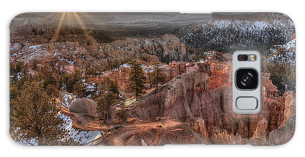 Sunrise In Bryce Canyon Galaxy Case