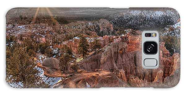 Sunrise In Bryce Canyon Galaxy Case by Wendell Thompson