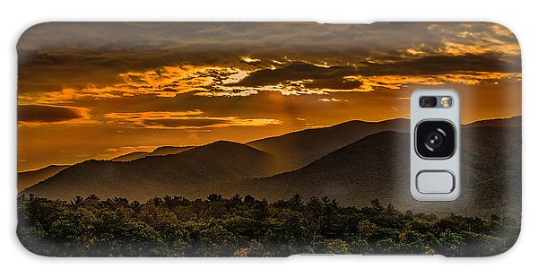 Sunrise In Cades Cove Great Smoky Mountains Tennessee Galaxy Case