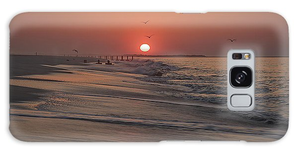 Cape May Galaxy Case - Sunrise In Cape May by Rick Berk