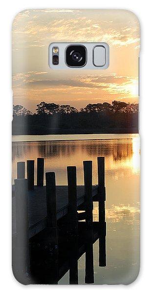Sunrise In Grayton Beach II Galaxy Case by Robert Meanor