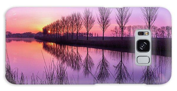 Sunrise In Holland Galaxy Case