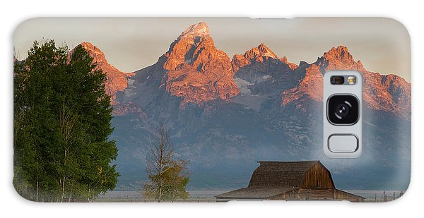 Sunrise In Jackson Hole Galaxy Case