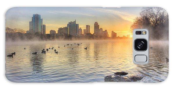Texas Galaxy Case - Sunrise In January Over Austin Texas 5 by Rob Greebon