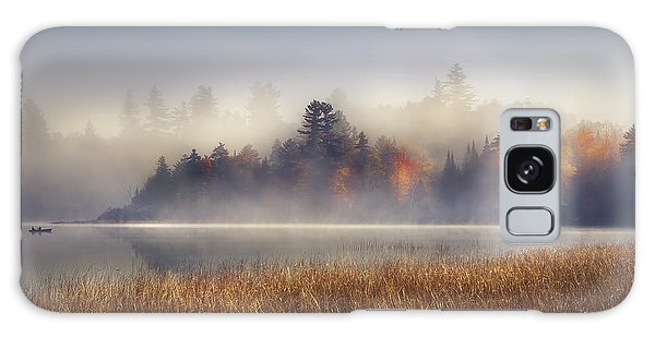 Boat Galaxy S8 Case - Sunrise In Lake Placid  by Magda  Bognar