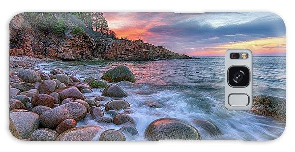 Sunrise In Monument Cove Galaxy Case by Rick Berk