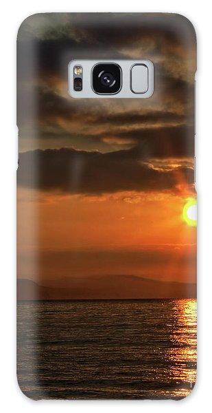 Sunrise In Portland Galaxy Case by Stephen Melia