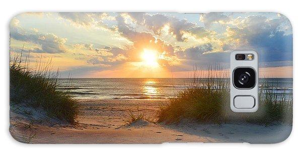 Sunrise In South Nags Head Galaxy Case