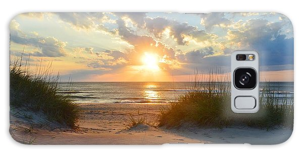 Sunrise In South Nags Head Galaxy Case