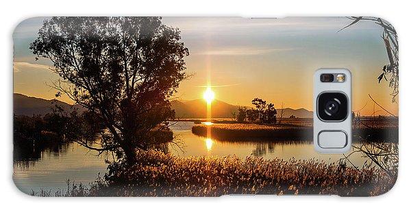 Sunrise In The Ditch Burlamacca Galaxy Case
