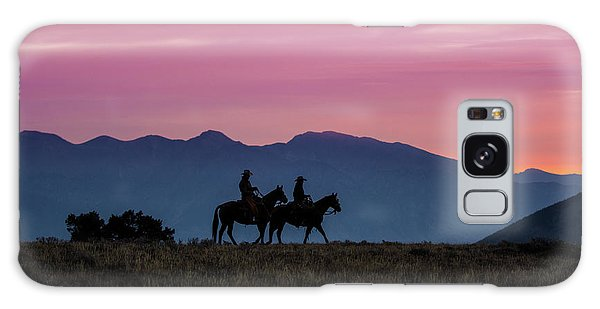 Sunrise In The Lost River Range Wild West Photography Art By Kay Galaxy Case