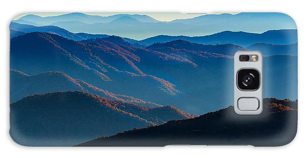 Sunrise In The Smokies Galaxy Case