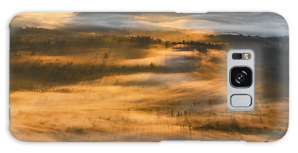Sunrise In The Valley Galaxy Case