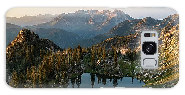 Sunrise In The Wasatch Galaxy Case