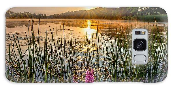 Sunrise Kent Lake Galaxy Case