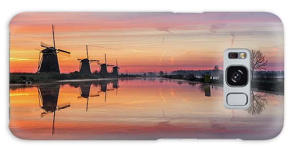 Sunrise Kinderdijk Galaxy Case