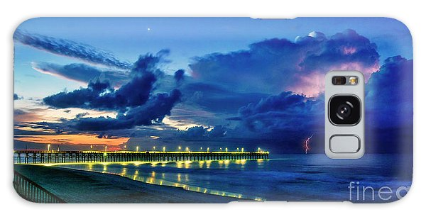 Sunrise Lightning Galaxy Case