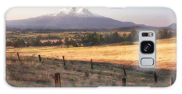 Sunrise Mount Shasta Galaxy Case