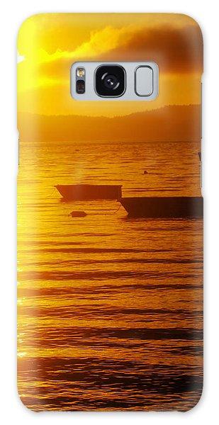 Swan Boats Galaxy Case - Sunrise Near Liliwaup  by Jeff Swan