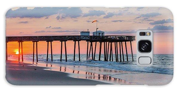 Sunrise Ocean City Fishing Pier Galaxy Case