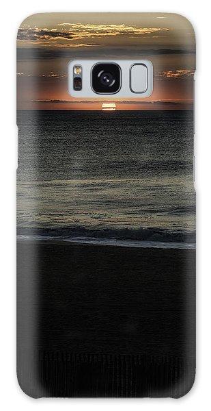 Sunrise Ocean City Galaxy Case