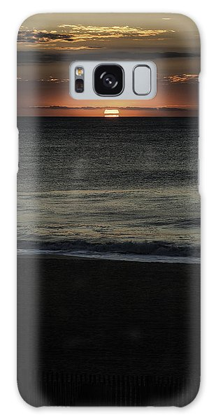 Sunrise Ocean City Galaxy Case by Jim Moore